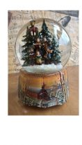 Christmas Musical Water Globe available from The Music Box Shop, Bristol.
